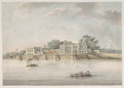 The 18th century Mughal palace at Ghazipur